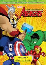 Marvel The Avengers: Earth's Mightiest Heroes, Vol. 1