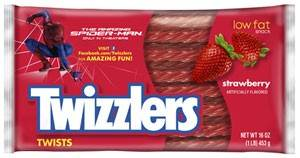 Twizzlers Celebrates Release of The Amazing Spider-Man with a Twisty Web of Amazing Prizes