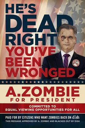 Zombie Enters the 2012 Presidential Race
