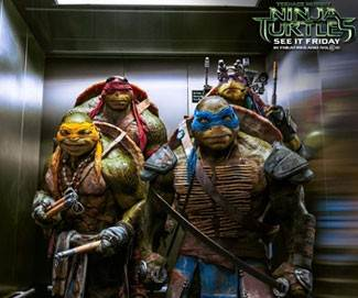 Watch Michelangelo, Raphael, Donatello and Leonardo drop a beat and take on the Shredder!
