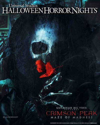 Guillermo del Toro To Bring Crimson Peak Maze To Universal's Halloween Horror Nights