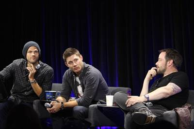 Supernatural Conversation for a Cause Panel at Nerd HQ 2015