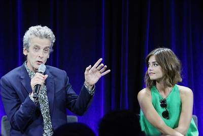 The Doctor, Peter Capaldi, Surprises 'Whovians' at The Doctor Who Panel at Nerd HQ 2015