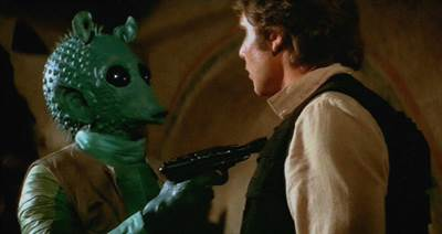 Star Wars' Greedo Speaks About Infamous Han Solo Shootout
