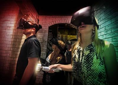 Halloween Horror Nights Attraction Will Blend Physical Environments, Real-Life Characters and Cutting-Edge Virtual Reality