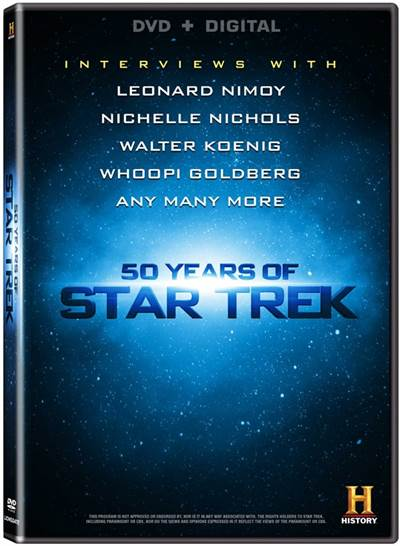 Captain's Log Stardate 94477.81, 50 Years of Star Trek