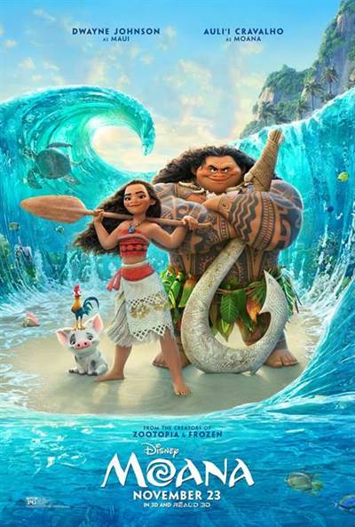 Win Complimentary Passes for two to a 3D Advance Screening of Disney's MOANA