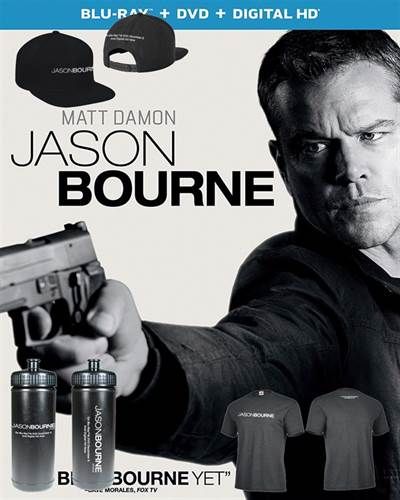 Win a Jason Bourne Prize Pack from FlickDirect and Universal Pictures