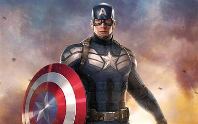 Daughter of Captain America Creator Supports Use of Character for Political Issues