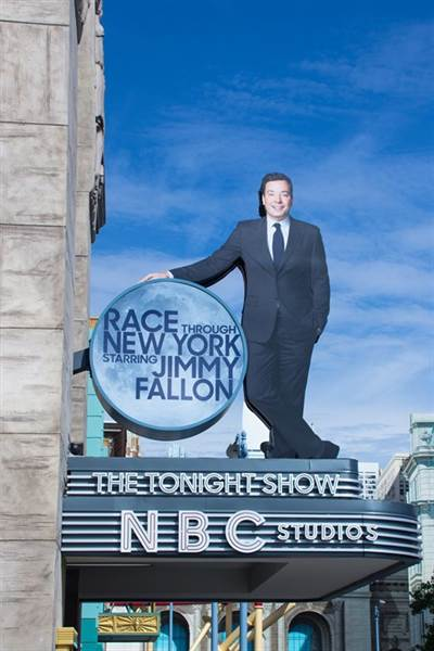Universal Orlando's Race Through New York Starring Jimmy Fallon is a Fully Immersive Experience