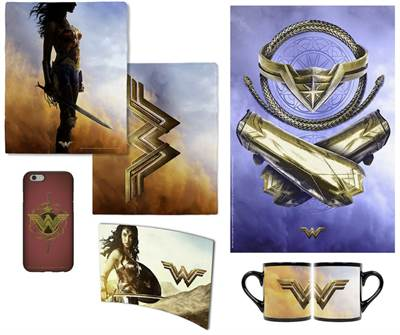 Warner Bros. Opens Online Wonder Woman Store To Coincide With Films Release
