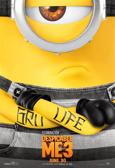 Win Complimentary Passes For Two To An Advance Screening of Universal Pictures, Despicable Me 3