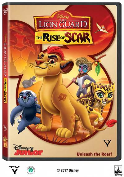 Win a Copy of THE LION GUARD: THE RISE OF SCAR From FlickDirect and Disney Junior
