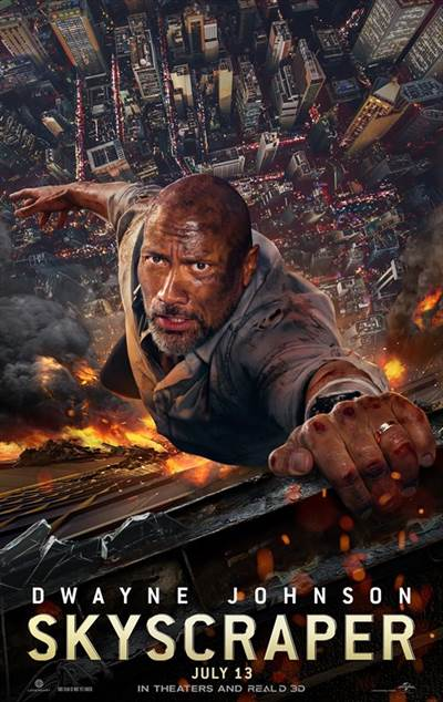 Dwayne Johnson Teams Up With Atom Tickets for Skyscraper