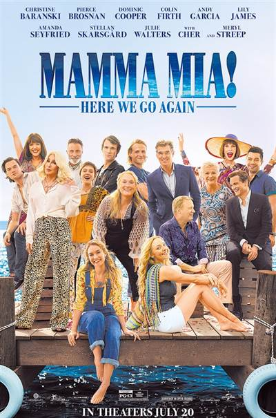 Win Complimentary Passes For Two To An Advance Screening of Universal Pictures' MAMMA MIA! HERE WE GO AGAIN