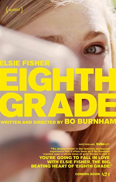 Win Complimentary Passes For Two To An Advance Screening of A24' EIGHTH GRADE
