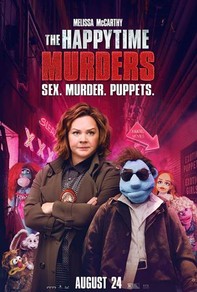 Win Complimentary Passes For Two To An Advance Screening of STX Entertainment's THE HAPPYTIME MURDERS