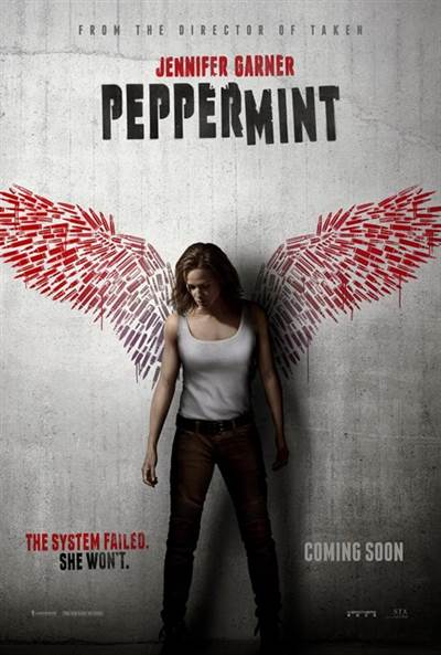 Win Complimentary Passes For Two To An Advance Screening of STX Entertainment's PEPPERMINT