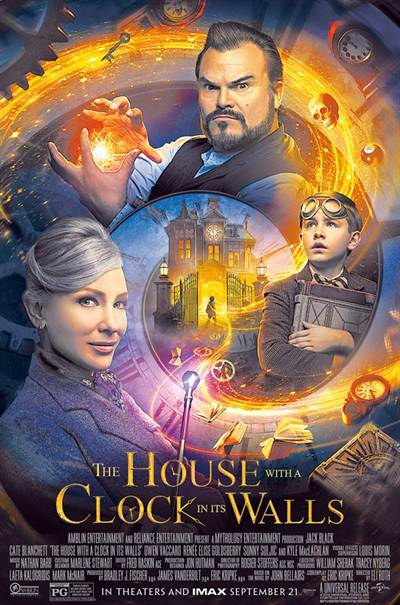Win Complimentary Passes For Two To An Advance Screening of Universal Pictures' THE HOUSE WITH A CLOCK IN ITS WALLS