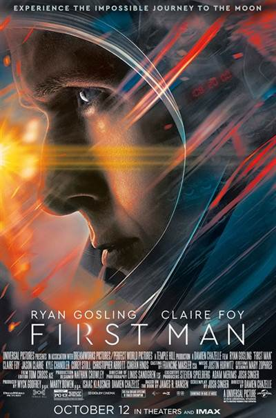 Win Complimentary Passes For Two To An Advance Screening of Universal Pictures' FIRST MAN
