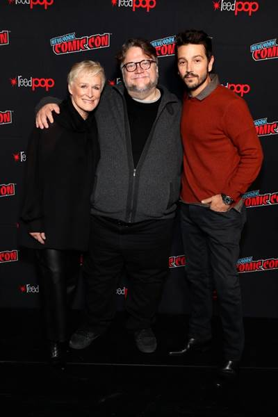 Guillermo del Toro and Glenn Close Make Surprise Appearance at New York Comic Con
