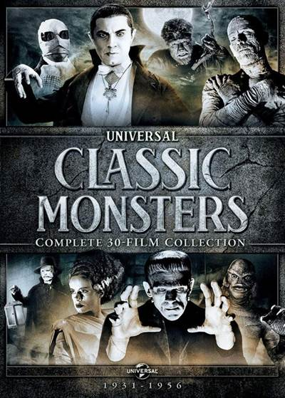 Prepare For This Year's Halloween With The Universal Classic Monsters: Complete 30-Film Collection
