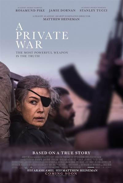 Win Complimentary Passes For Two To An Advance Screening of A PRIVATE WAR