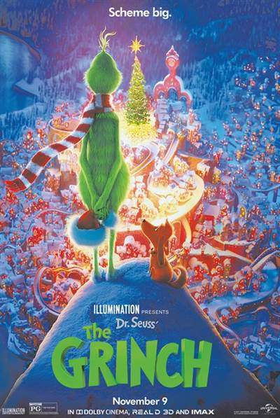 Win Complimentary Passes For Two To An Advance Screening of Universal Pictures' The Grinch