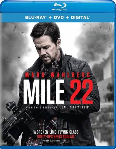 Enter For Your Chance To Win a Blu-ray of UNIVERSAL'S MILE 22
