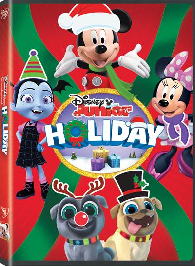 Celebrate the Holidays with Disney Junior's Latest DVD