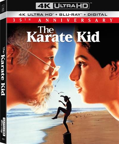 The Karate Kid Celebrates Its 35th Anniversary With a Theatrical Release and a New 4K Ultra HD