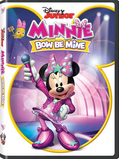 Win A Copy Of Minnie's Bow Be Mine on DVD This Valentine's Day