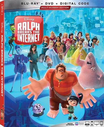 Win a Blu-ray Copy of Walt Disney Pictures'  Ralph Breaks The Internet