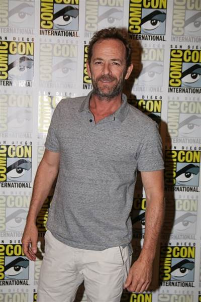 Luke Perry Hospitalized After Apparent Stroke