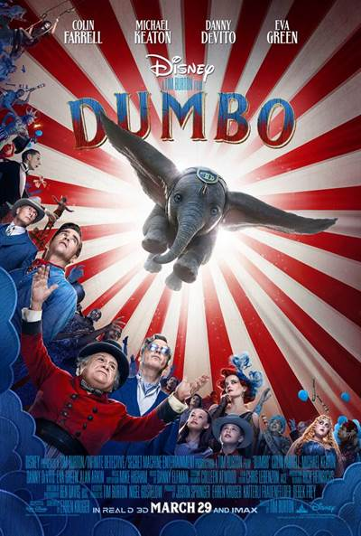 Win Complimentary Passes For Two To An Advance Screening of Disney's Dumbo