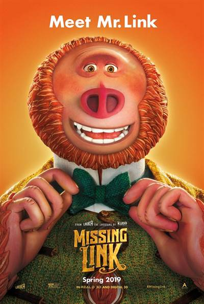 Win Complimentary Passes To An Advance Screening of Laika Studios' MISSING LINK