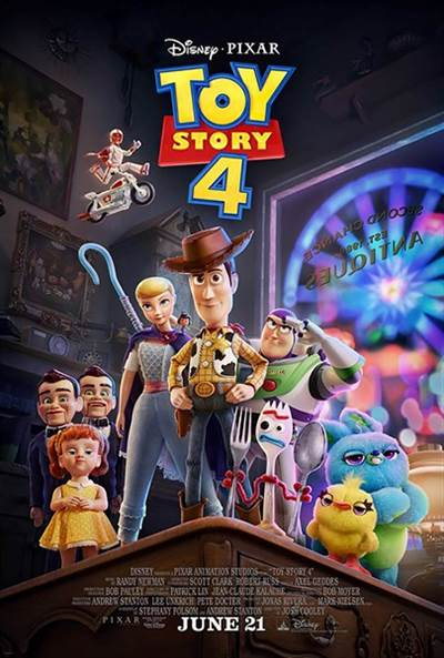 Win Passes For 2 To An Advance Screening of Disney's Toy Story 4