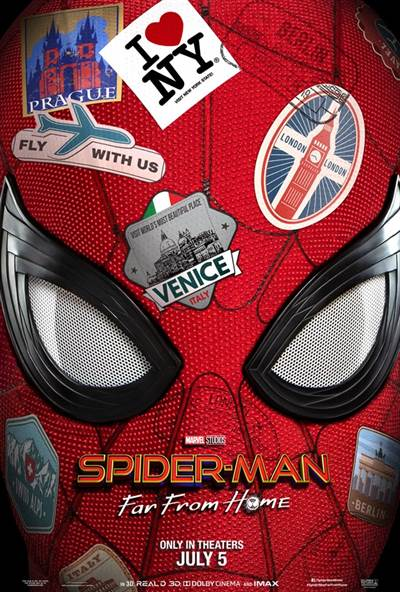 Win Passes To See Screening of Spider-man: Far From Home