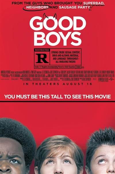 Win Passes For 2 To An Advance Screening of Universal Pictures' GOOD BOYS