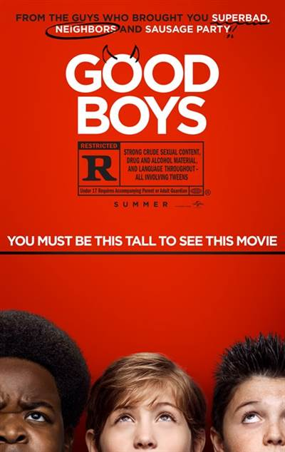 Free Screenings of Good Boys in Select Theatres on August 7