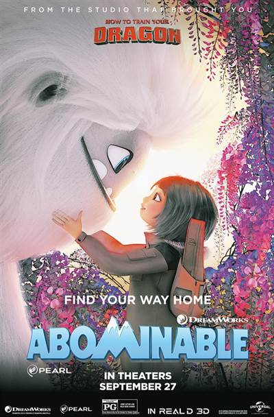 Win Complimentary Passes To An Advance Screening of DreamWorks, ABOMINABLE