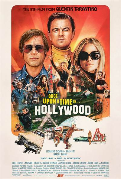 Extended Version of Once Upon in Hollywood Coming to Theatres