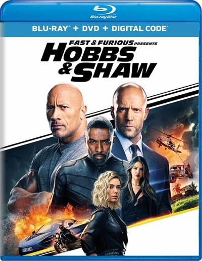Get a Free Copy of Fast & Furious Presents: Hobbs & Shaw on Blu-ray Combo Pack