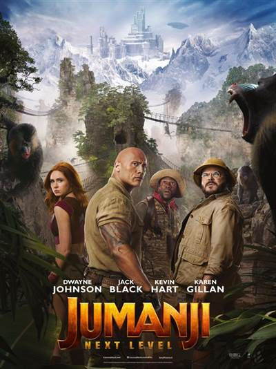 Passes To See An Early Screening of JUMANJI: THE NEXT LEVEL In Florida