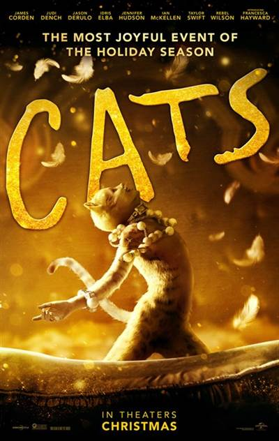 Complimentary Passes For Two To A Screening of Universal Pictures' Cats