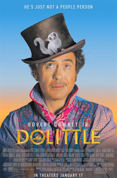 Free Passes For Two To A Screening of Universal Pictures' DOLITTLE