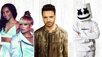 Marshmello, TLC, Luis Fonsi and More to Perform at Universal Orlando's Mardi Gras Celebration