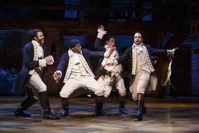 Disney to Bring Broadway Blockbuster Hamilton to the Big Screen