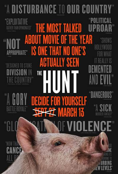 The Hunt Finally Set to Hit Theatres on March 13