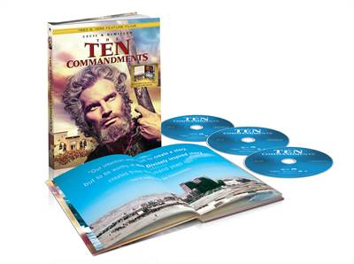 Enter To Win DeMille's classics, THE TEN COMMANDMENTS ('23 and '56 version) on Blu-ray Digipack